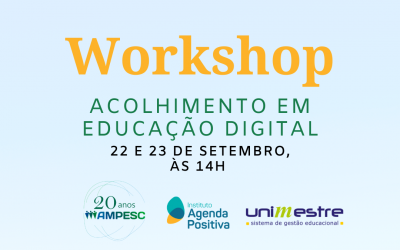 Workshop Acolhimento em Educação Digital
